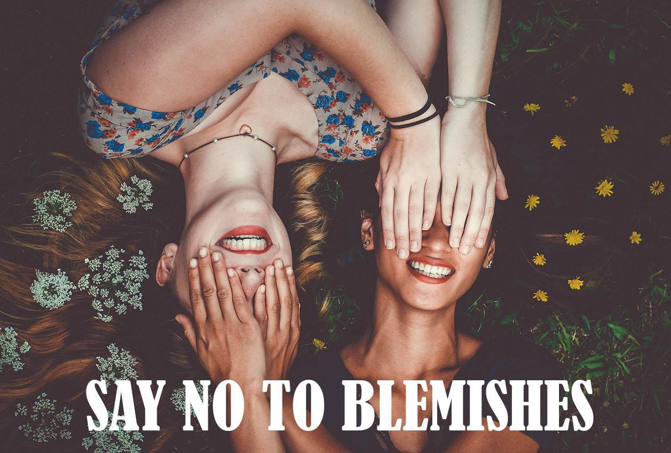 3 STEPS TO GET RID OF BLEMISHES AND DARK SPOTS